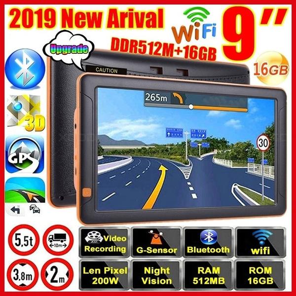 LanLan Navigatore GPS Navigatore dellautomobile di Navigazione GPS  di 5inch 128MB 8GB HD GPS Mappa dellAustralia