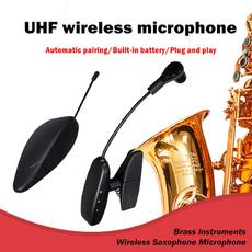 Microphone, wirelesssaxophonespeaker, instrumentspecific, saxophonemicrophonesystem