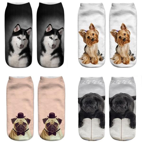 cute, Fashion, dogsock, unisex
