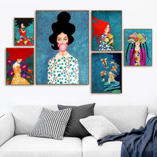 Decor, Fashion, art, figureoilpainting