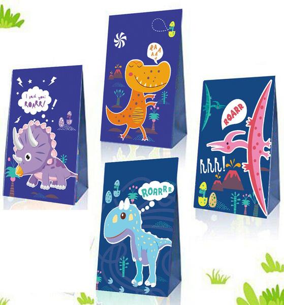 birthdaysupplie, Dinosaur, Food, paperbag