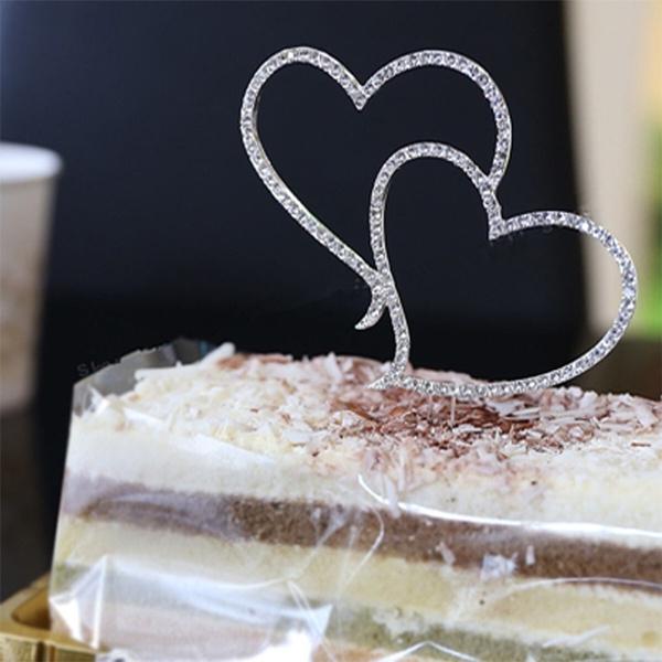 Heart, Decor, weddingcaketopper, Romantic