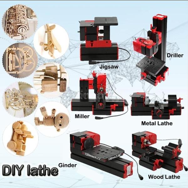 Machine, minidiylathe, Transformer, motorizedtransformermultipurposemachine