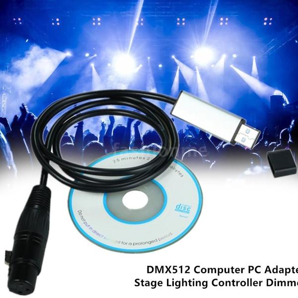 led, usb, dmx512computerpcadapter, Adapter