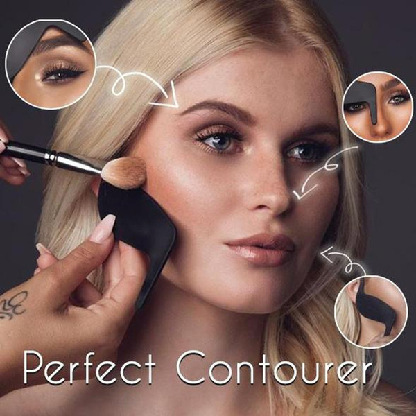 contourtool, Beauty tools, curvecard, Beauty