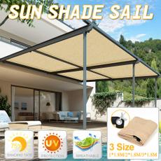 sunshadesail, suncanopy, Garden, uv