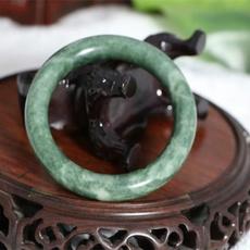 Natural, Jewelry, Bangle, jade