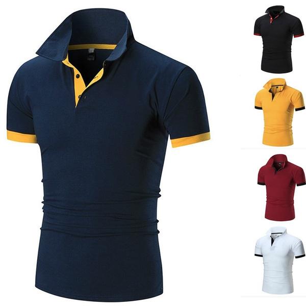 Fashion, Men's Fashion, solidcolortshirt, Tops