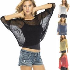 blouse, Summer, Plus Size, ladytop