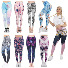 sexy leggings, Fitness, Plus Size, Casual pants