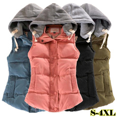 padded, Vest, Fashion, Jacket