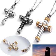 Steel, titanium steel, Jewelry, Cross Pendant