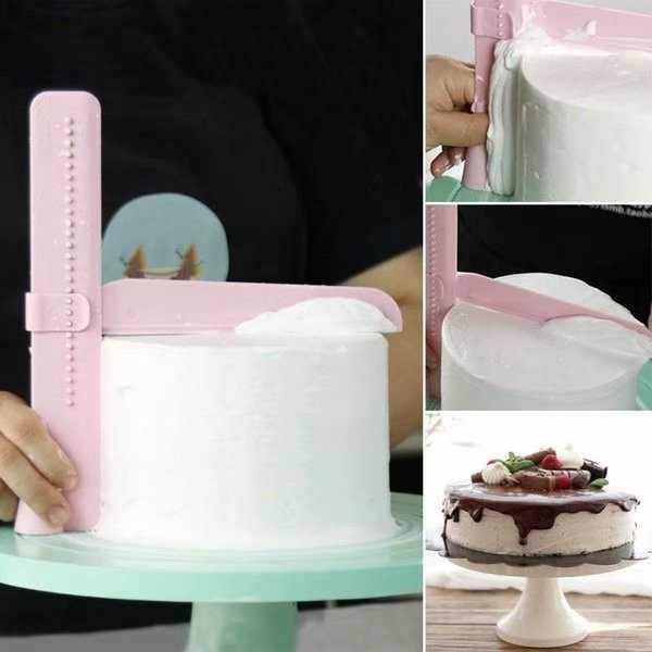 cakecookingtool, adjustablecakesmoothertool, cakesmootherscraper, Tool
