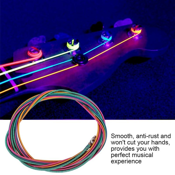 Musical Instruments, Electric, Colorful, bassstring