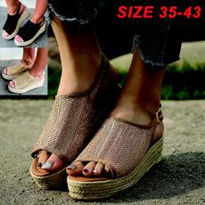 Summer, plus, Sandals, Womens Shoes