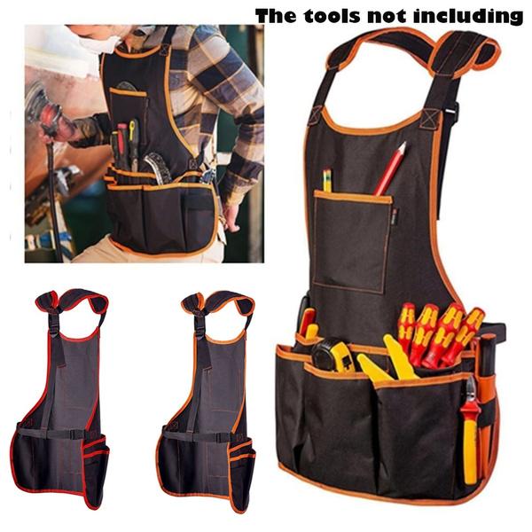 apron, multiplepocket, workapron, strap