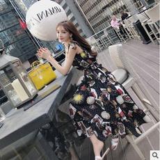 Summer, Fashion, sundress, long dress