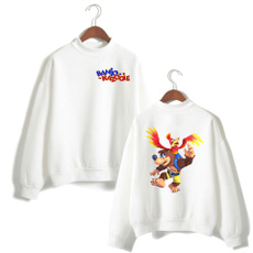banjokazooie, Couple Hoodies, Outdoor, hooded sweatshirt