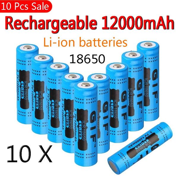 Flashlight, Batteries, liionbattery, 18650flashlight