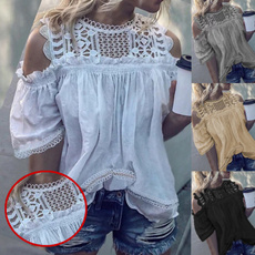 blouse, Summer, off shoulder top, Fashion