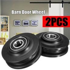 Wheels, pulley, Door, Closet