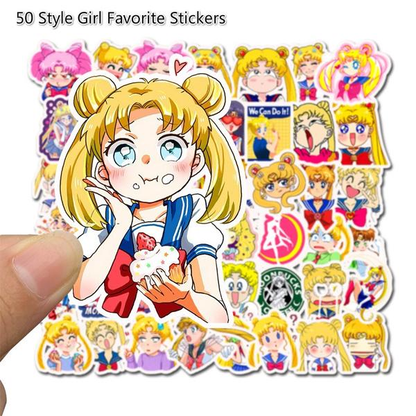 cute, girldecor, Car Sticker, Stickers