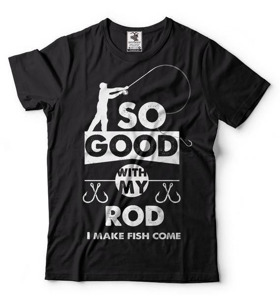 giftfordad, funnyfishingshirt, Shirt, fishingrod