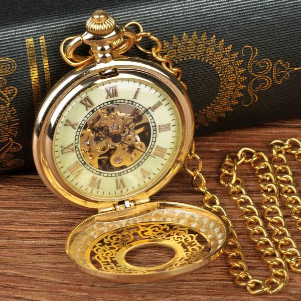 chainwatch, Men, Watch, Pocket