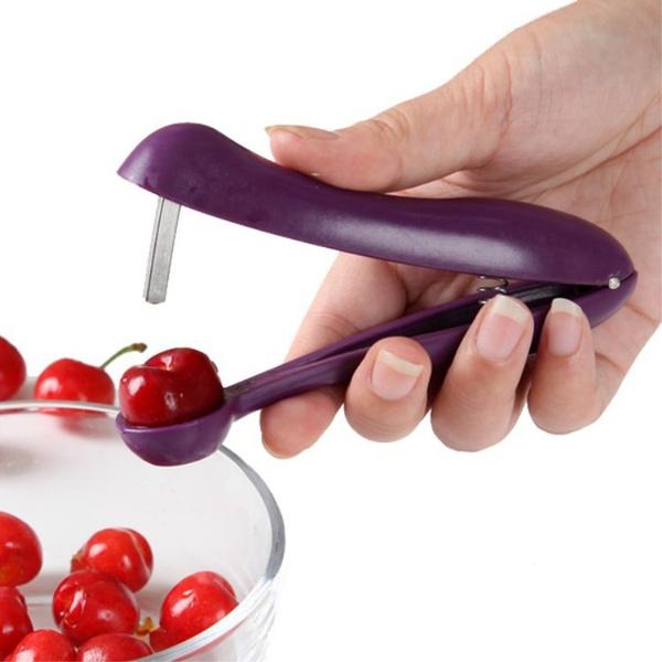 Kitchen & Dining, cherrypitter, gadget, stainlesssteelpitter