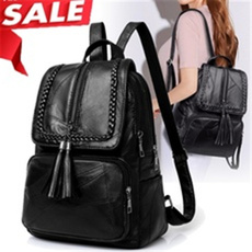black backpack, women backpack, school bags for women, leather