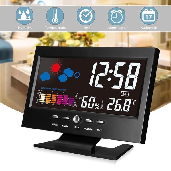 lcd, Clock, Indoor, Alarm Clock