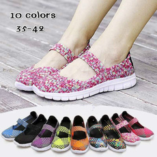 casual shoes, wovenshoe, Sneakers, Sandals