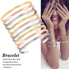 stackablebracelet, handstampedbracelet, skinnycuffbracelet, Bracelet