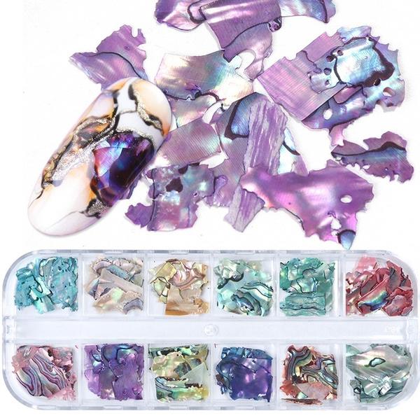 nail decoration, Holographic, nailglitter, nailsequinsdecor