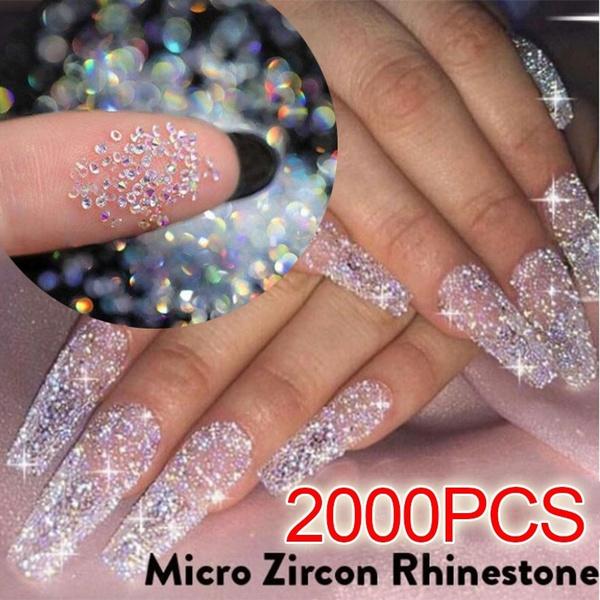 nail decoration, Mini, microrhinestone, zirconrhinestone