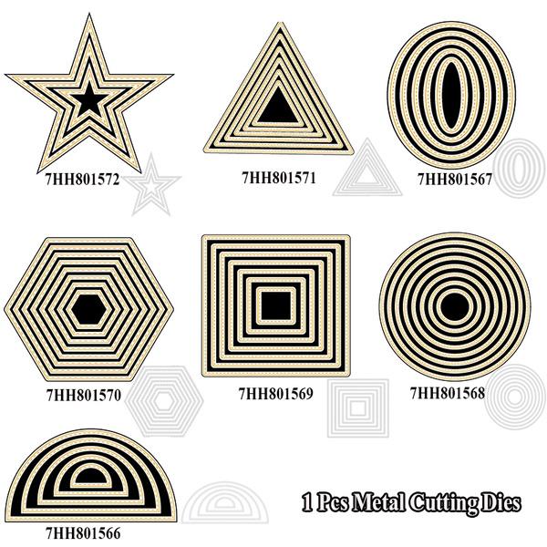 Star, cuttingdiesstencil, Metal, metalcuttingdiesstencil
