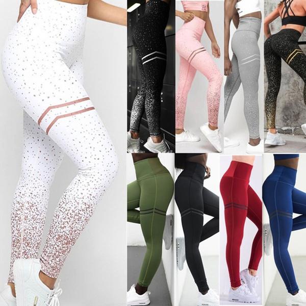 Leggings, Fashion, Yoga, Waist