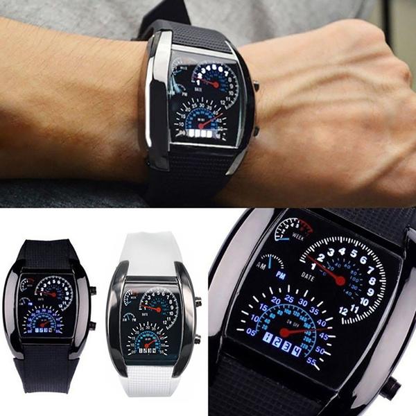 LED Watch, leddigitalwatch, dial, Fashion