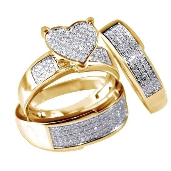 Sterling, Heart, Engagement, gold