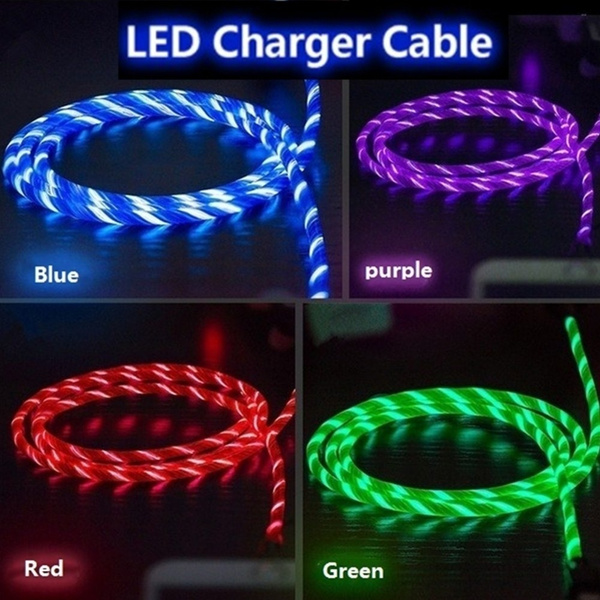 ledchargecable, IPhone Accessories, led, streamerdatacable