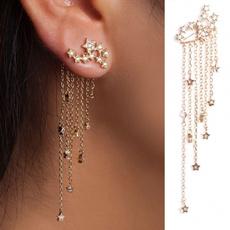 Tassels, DIAMOND, Dangle Earring, Jewelry