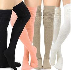 knitwarmsock, overkneesock, Shoes Accessories, Socks