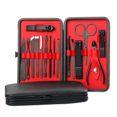 Steel, case, Manicure Pedicure Set, Beauty