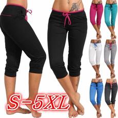 Women Pants, Summer, Plus Size, skinny pants