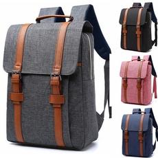Laptop Backpack, Outdoor, School Backpack, Vintage