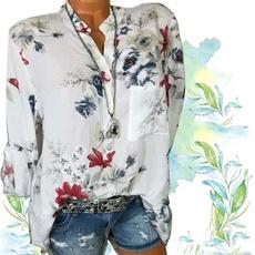 blouse, Plus Size, Shirt, long sleeved shirt