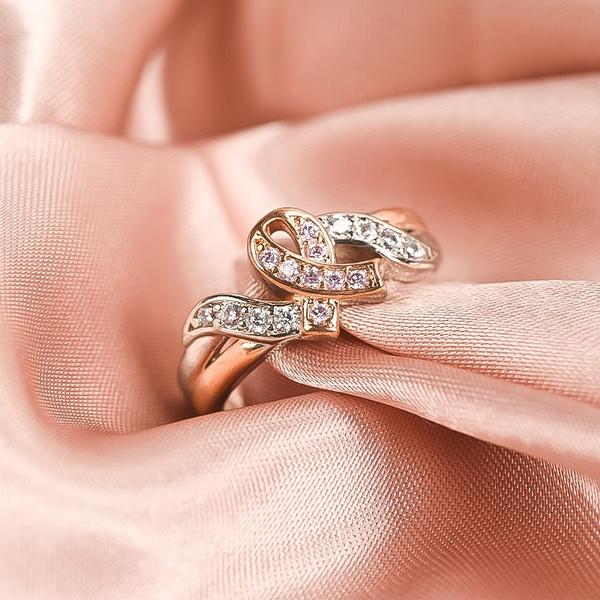 pink, 18k gold, Princess, gold