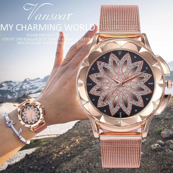Women's Analog Watches, quartz, Dress Watches, Gifts
