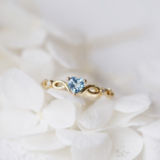 sky blue, sapphirediamond, DIAMOND, gold