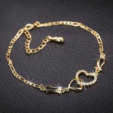 yellow gold, Heart, Fashion, Love